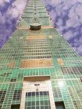 Ταϊπέι, Ταϊβάν - 22 Νοεμβρίου 2015: Ταϊπέι 101 πύργος, άποψη από Στοκ εικόνα με δικαίωμα ελεύθερης χρήσης