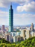 Ταϊπέι 101 Στοκ Εικόνα
