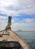 Ταϊλάνδη, επαρχία Krabi Τα νησιά στη Θάλασσα Ανταμάν Βάρκα Στοκ Εικόνες