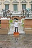 Ταϊλάνδη Μπανγκόκ το μεγάλο παλάτι Στοκ Φωτογραφίες