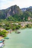 Ταϊλάνδη, Krabi Θέρετρο πολυτέλειας Στοκ Φωτογραφίες