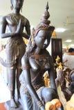 Ταϊλανδικά αγάλματα αγγέλου μυθολογίας Στοκ εικόνες με δικαίωμα ελεύθερης χρήσης