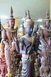 Ταϊλανδικά αγάλματα αγγέλου μυθολογίας Στοκ Φωτογραφίες