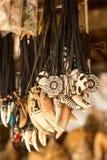 Ταϊλανδικά αναμνηστικά στην αγορά των εμπόρων στα νησιά του δεσμού του James Στοκ εικόνα με δικαίωμα ελεύθερης χρήσης