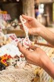 Ταϊλανδικά αναμνηστικά στην αγορά των εμπόρων στα νησιά του δεσμού του James Στοκ Εικόνες