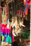 Ταϊλανδικά αναμνηστικά στην αγορά των εμπόρων στα νησιά του δεσμού του James Στοκ Φωτογραφία