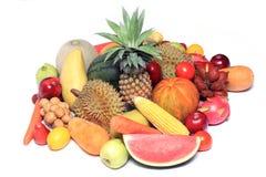 Ταϊλανδικά ασιατικά τροπικά φρούτα Στοκ Εικόνα