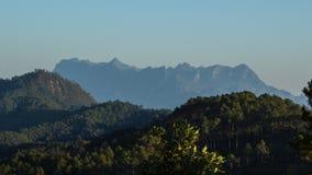 Ταϊλανδικά βουνά Στοκ εικόνα με δικαίωμα ελεύθερης χρήσης