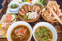 Ταϊλανδικά βόρεια τρόφιμα Στοκ εικόνα με δικαίωμα ελεύθερης χρήσης