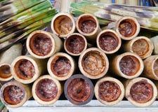 Ταϊλανδικά γλυκά τρόφιμα Στοκ φωτογραφία με δικαίωμα ελεύθερης χρήσης
