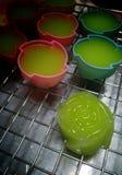 ταϊλανδικά γλυκά kanomchan Στοκ Φωτογραφία