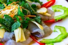 Ταϊλανδικά θαλασσινά Στοκ Εικόνες