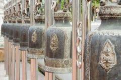 Ταϊλανδικά κουδούνια ύφους, Ayuthtaya, Ταϊλάνδη Στοκ Εικόνες