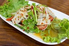 Ταϊλανδικά πικάντικα τρόφιμα Στοκ φωτογραφία με δικαίωμα ελεύθερης χρήσης