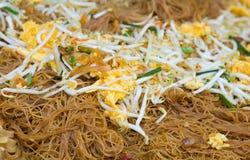 Ταϊλανδικά, ταϊλανδικά τρόφιμα μαξιλαριών. Στοκ Εικόνες