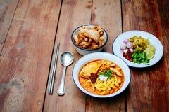 Ταϊλανδικά τρόφιμα βόρειος Ταϊλανδός Στοκ φωτογραφίες με δικαίωμα ελεύθερης χρήσης