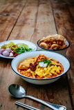 Ταϊλανδικά τρόφιμα βόρειος Ταϊλανδός Στοκ Φωτογραφίες