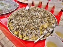 Ταϊλανδικά τρόφιμα και ποτό Στοκ Εικόνα