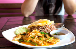 Ταϊλανδικά τρόφιμα Στοκ εικόνα με δικαίωμα ελεύθερης χρήσης