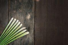 Ταϊλανδικά τρόφιμα, lemongrass, lemongrass στοκ εικόνες με δικαίωμα ελεύθερης χρήσης