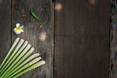 Ταϊλανδικά τρόφιμα, lemongrass, lemongrass στοκ φωτογραφία