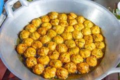 Ταϊλανδικά τρόφιμα takoyaki Στοκ φωτογραφία με δικαίωμα ελεύθερης χρήσης