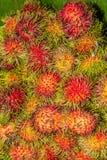 Ταϊλανδικά φρούτα, Ασία Στοκ φωτογραφία με δικαίωμα ελεύθερης χρήσης