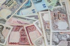 Ταϊλανδικά χρήματα - μπατ Στοκ εικόνες με δικαίωμα ελεύθερης χρήσης