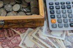 Ταϊλανδικά χρήματα - μπατ Στοκ Φωτογραφία