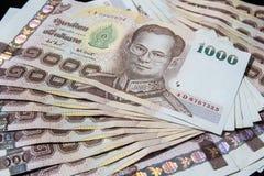 Ταϊλανδικά χρήματα, μπατ 1000 Στοκ Φωτογραφία