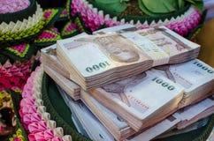 Ταϊλανδικά χρήματα μπατ Στοκ Εικόνες