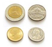 Ταϊλανδικά χρήματα Στοκ εικόνα με δικαίωμα ελεύθερης χρήσης