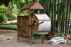 Ταϊλανδικές αλεσμένες εγκαταστάσεις ρυζιού Στοκ Εικόνα