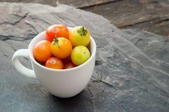 Ταϊλανδικές ντομάτες κερασιών Στοκ Εικόνες