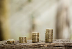Ταϊλανδική έννοια συναλλαγματικής ισοτιμίας νομίσματος, επιχείρηση ι πληροφοριών κεφαλαίων Στοκ Εικόνες