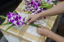 Ταϊλανδική ανθοδέσμη Στοκ εικόνα με δικαίωμα ελεύθερης χρήσης