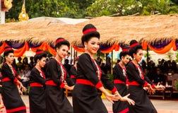 Ταϊλανδική απόδοση χορού Στοκ εικόνες με δικαίωμα ελεύθερης χρήσης