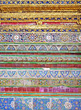 Ταϊλανδική αρχιτεκτονική διακόσμηση Στοκ φωτογραφίες με δικαίωμα ελεύθερης χρήσης