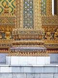 Ταϊλανδική αρχιτεκτονική διακόσμηση Στοκ φωτογραφία με δικαίωμα ελεύθερης χρήσης