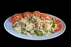 Ταϊλανδική βοτανική πικάντικη σαλάτα Στοκ εικόνες με δικαίωμα ελεύθερης χρήσης