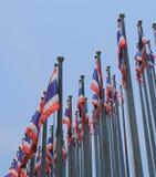 Ταϊλανδική εθνική σημαία Ταϊλάνδη Στοκ Εικόνες