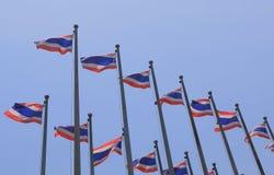 Ταϊλανδική εθνική σημαία Ταϊλάνδη Στοκ Φωτογραφία