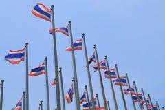 Ταϊλανδική εθνική σημαία Ταϊλάνδη Στοκ φωτογραφία με δικαίωμα ελεύθερης χρήσης