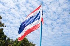 Ταϊλανδική εθνική σημαία Στοκ Φωτογραφίες
