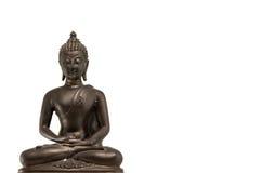 Ταϊλανδική εικόνα του Βούδα που χρησιμοποιείται ως φυλακτά, άγαλμα του Βούδα Στοκ εικόνα με δικαίωμα ελεύθερης χρήσης