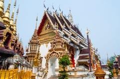 Ταϊλανδική εκκλησία του ναού Στοκ εικόνα με δικαίωμα ελεύθερης χρήσης