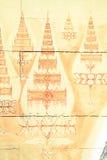 Ταϊλανδική λεπτομέρεια ναών Στοκ Φωτογραφίες