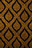 Ταϊλανδική διακοσμητική διακόσμηση Στοκ εικόνα με δικαίωμα ελεύθερης χρήσης