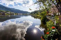 Ταϊλανδική λιμνοθάλασσα Στοκ εικόνες με δικαίωμα ελεύθερης χρήσης