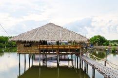 Ταϊλανδική καλύβα παράδοσης Στοκ φωτογραφία με δικαίωμα ελεύθερης χρήσης